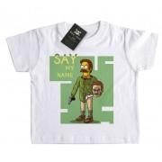 Camiseta Bebê Say my Name -  Simpsons - White