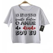 Camiseta de Rock Infantil -  Amor do Dindo - White