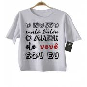 Camiseta de Rock Infantil -  Amor do Vovô - White