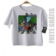 Camiseta de Rock  Infantil Beatles Homer Car - White