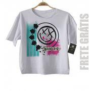 Camiseta de Rock infantil Blink 182 - White