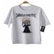 Camiseta de Rock Infantil -  Megadeth - White