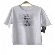 Camiseta de Rock Infantil -  Pink Floyd - White