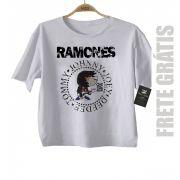Camiseta de Rock Infantil - Ramones - White