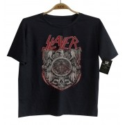 Camiseta de Rock Infantil -  Slayer - Black