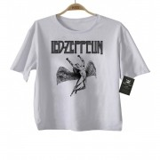 Camiseta de Rock Infantil - Led Zeppelin - White