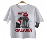 Camiseta de Rock Natal -  Star Wars - White