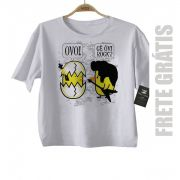 Camiseta de Rock para Crianças infantil  de Rock, Cê Ouvi Rock? - White