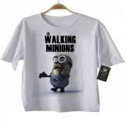 Camiseta de The Walking  Minions - White