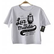 Camiseta  Gospel Luz do Mundo - White