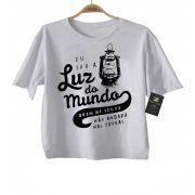 Camiseta  Gospel Luz do Mundo - White