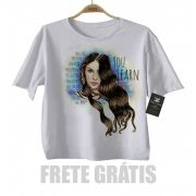 Camiseta Infantil  Alanis Morrissete  - White
