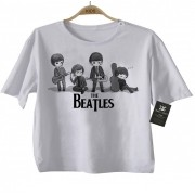 Camiseta Infantil - Beatles - White