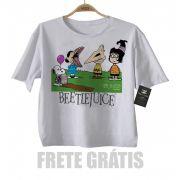 Camiseta Infantil  Beetlejuice, Os Fantasmas se divertem