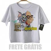Camiseta Infantil  Bossa Nova - Tom Jobim e Vincius de Moraes - White