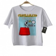 Camiseta Infantil DIvertida Criativa - Programado para acordar as 3:00 am - White