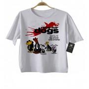 Camiseta Infantil filmes Cães de Aluguel (Tarantino) - White