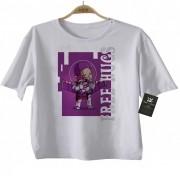 Camiseta Infantil  Free Hugs Toy Story -  Abraço de Super Vilão - White