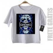 Camiseta Infantil  Gremio Futebol Time - White