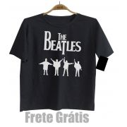 Camiseta Infantil Rock Beatles - Help  - Black