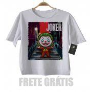 Camiseta Infantil Joker Coringa Baby Monster