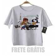 Camiseta Infantil Guns n Roses November Rain Snoopy - White