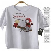 Camiseta Infantil Nerds - Filmes -   Caverna do Dragão - White