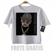 Camiseta Infantil Rap / Hip hop  Chris Brown - White