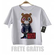 Camiseta Infantil  Rap / Hip hop   Kanye West - White