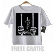 Camiseta Infantil Rap / Hip hop Racionais Mcs - White