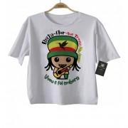 Camiseta Infantil  Reggae Presente de um Beija-Flor