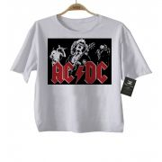 Camiseta Infantil  Rock Acdc - Sublimation