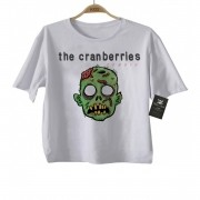 Camiseta Infantil Rock Cranberries - White