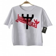 Camiseta  Infantil Rock - Judas Priest - White