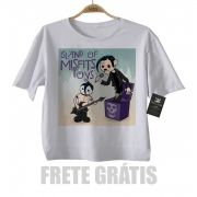 Camiseta Infantil Rock Misfits Toy - White -