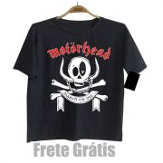 Camiseta Infantil Rock Motorhead Black Baby Monster