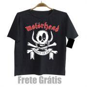 Camiseta Infantil Rock Motorhead Black Baby Monster