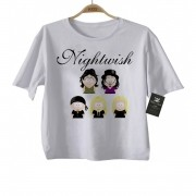 Camiseta Infantil  Rock Nightwish - White
