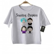 Camiseta Infantil Rock  Smashing Pumpkins - White