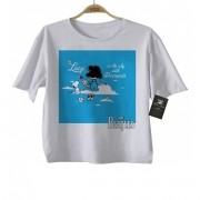 Camiseta Infantil Rock The Beatles  Snoopy Lucy