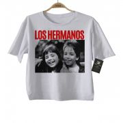 Camiseta Infantil Sertanejo Sandy e Junior Los Hermanos