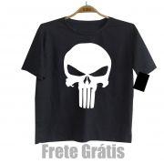 Camiseta Infantil Super-herói Justiceiro  - Black