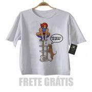 Camiseta Infantil Super Herois -  thundercat - White