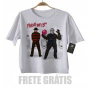 Camiseta Infantil terror - Sexta Feira 13 - White