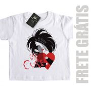 Camiseta Infantil The Cure - I'm Love - White