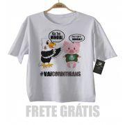 Camiseta Infantl VAI CORINTHIANS Time-  Palmeiras sem Mundial - White