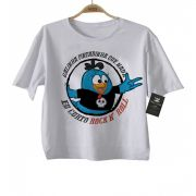 Camiseta Rock -  Galinha Pintadinha Rock N' Roll - White