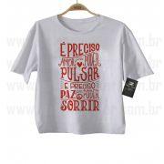 Camiseta Sertanejo É Preciso Amor - White