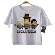 Camiseta Sertanejo Minions Evidências - White