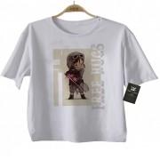 Camiseta Infantil  Free Hugs  Star Wars- A - White